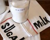 Best Seller / Farmhouse Kitchen Decor / Tea Towel Set / New Home Gift / Housewarming Hostess Gift