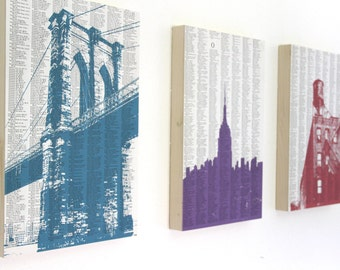 Large New York City Art / NYC Architectural Prints