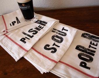 Fathers Day Gift / Craft Beer / Beer Lover / Beer Gift / Stout / Pilsner / Porter / Ipa / Types of Beer / Beer Brewer Craft Beer Towel