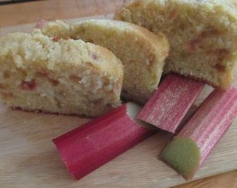 2 Mini Rhubarb Pound Cakes