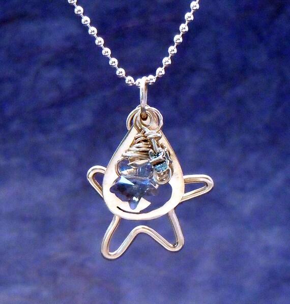 North Star School Spirit Charm Necklace