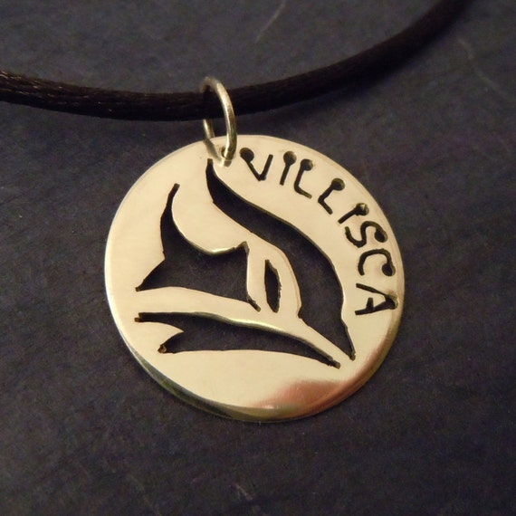 School Spirit Charm Necklace Villisca Iowa