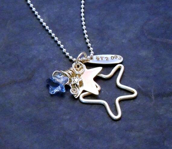North Star School Spirit Navigator Charm Necklace