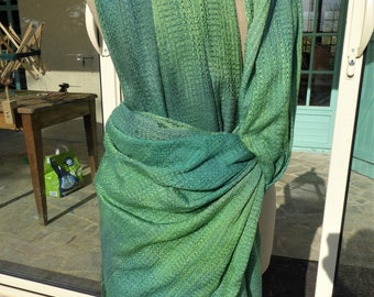 CUSTOM, Made to Order, All Silk Handwoven Baby Wrap