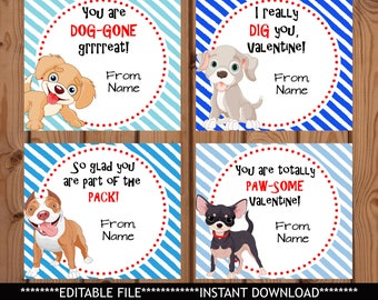Dog Valentine Card Etsy