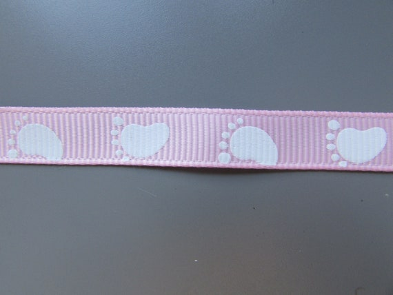 Pretty Girl White Grosgrain Ribbon 2.5cm  x 1 Metre  Sewing//Crafts//Cake