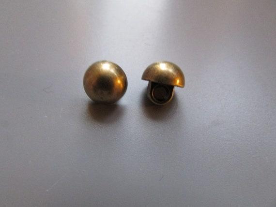 Victorian Style Bronze Buttons 2cm Diameter x 5  Craft//Costume//Steampunk//Sewin