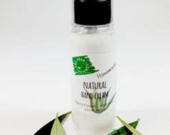 Natural Handmade Fragrance Free Hand Cream 50g Paraben and SLS Free