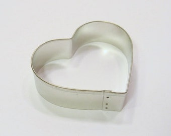 Heart 3.25 Inch Metal Cookie Cutter