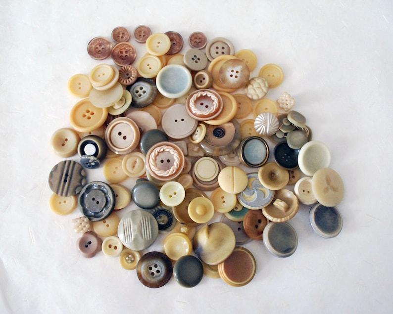 Antique Plastic Button Lot