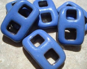 Periwinkle Buckle All-One-Piece Instant Clasp Button Buckle Toggle Qty 1 Blue Violet Clasp