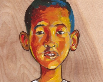 Childrens Portraits-Hand painted