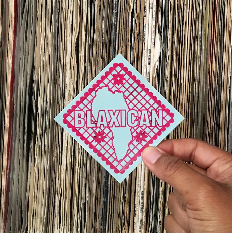Blaxican Sticker image 0
