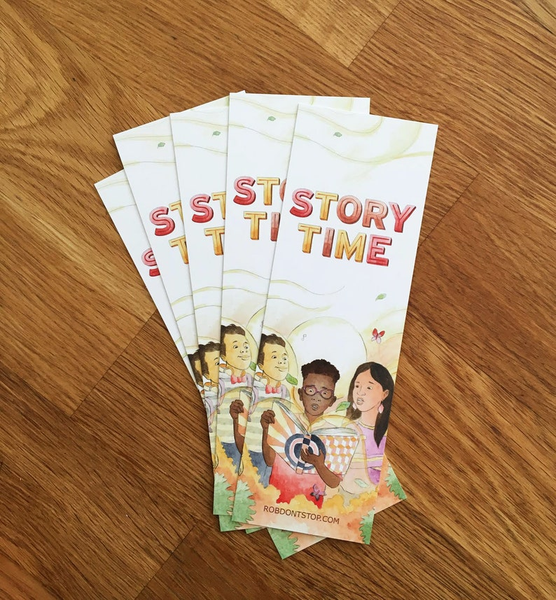 Story time  Bookmark  Reading Accessory image 0