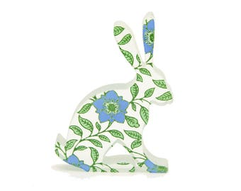 Dogrose Hare Glass Sculpture