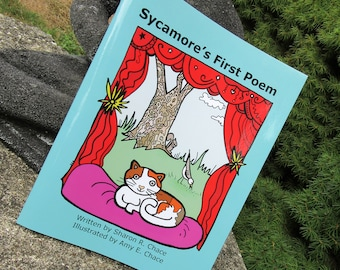 Sycamore's First Poem  a coloring book for children and educators FREE shipping the US