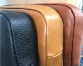 Headboard Cushion LEATHER COVER ONLY - 3 Colours, 100% cow leather