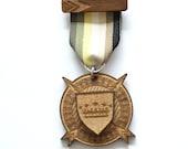 Wooden Medal - Miju x Norwegian Wood Collaboration