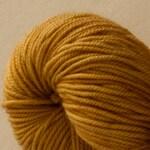 Madeleine sport weight - Brass - 100% SW Merino Hand Dyed Yarn 325 yds