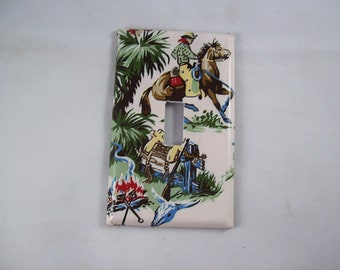 Cowboy Switch Plate Etsy