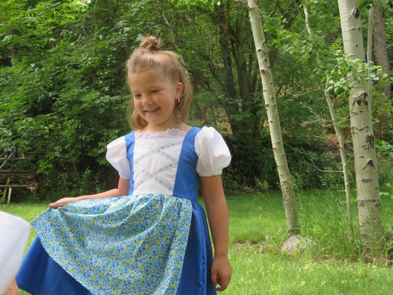 Folk Dirndl Bavarian Chitty Chitty Bang Bang European Girls Truly Scrumptious Music Box Doll Costume International German Bulgarian
