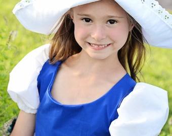 Cute Little Dutch Girl Hat, Netherlands, Holland, International, Folk Costume.  Cap, headpiece, headwear, new
