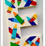 RESERVED LISTING Hand Painted Wooden Letters Custom Name Playroom Letters
