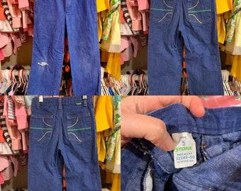 5T Kids 70s Jeans