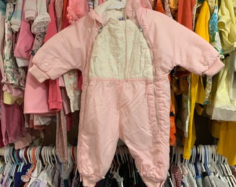 9/12 Months Snow Suit 1950s