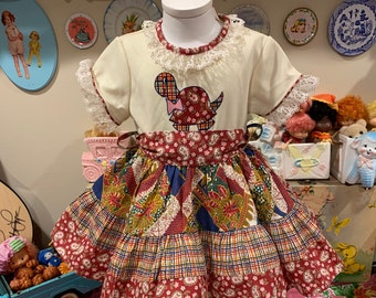 2T Turtle Dress