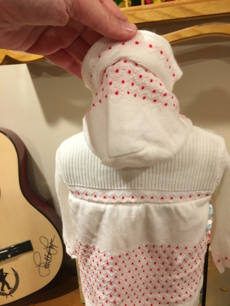 60s Baby Hoodie 03 Months