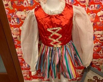 5/6 Girls Costume 1960s