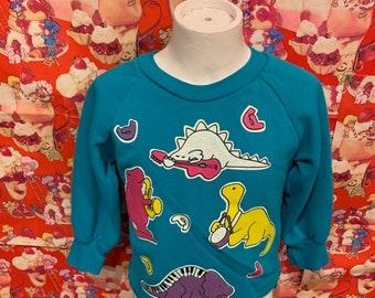 2T Dino Shirt 1990s