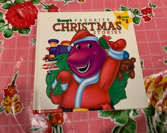 Barney Holiday Book 90s