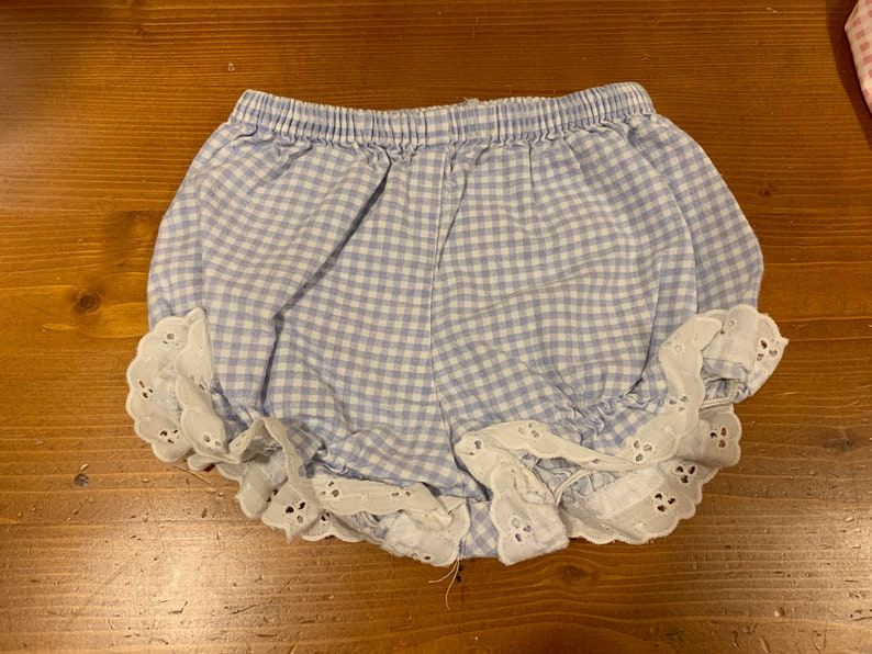 Gingham Bloomers 69 Months