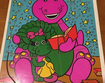 90s Barney Puzzle