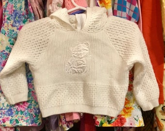 70s Baby Cardigan 0/6 Months