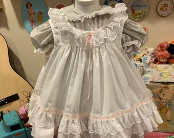 2T Bryan Apron Dress