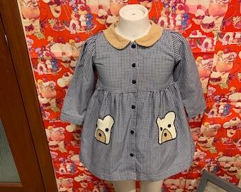 2T Teddy Dress