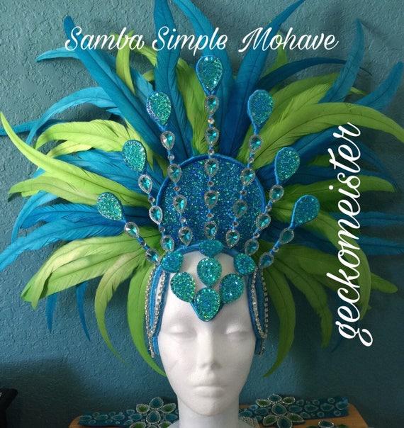Samba Simple Mohave Headdress Wire Frame Design Custom Made | Etsy