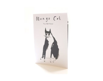MUNGO CAT - Limited Edition Picture Book / Illustrated Zine