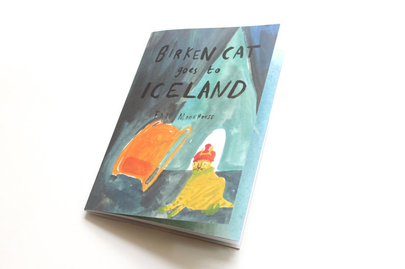 Picture Book / Illustrated Zine  Birken Cat Goes to ... image 0