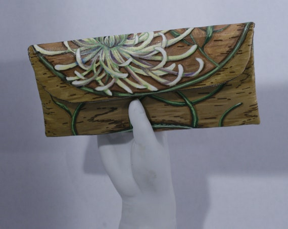 Chrysanthemum Wallet Clutch