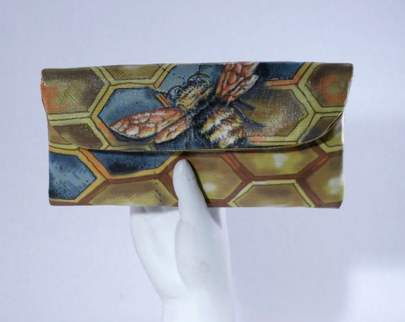Bee Small Wallet Clutch