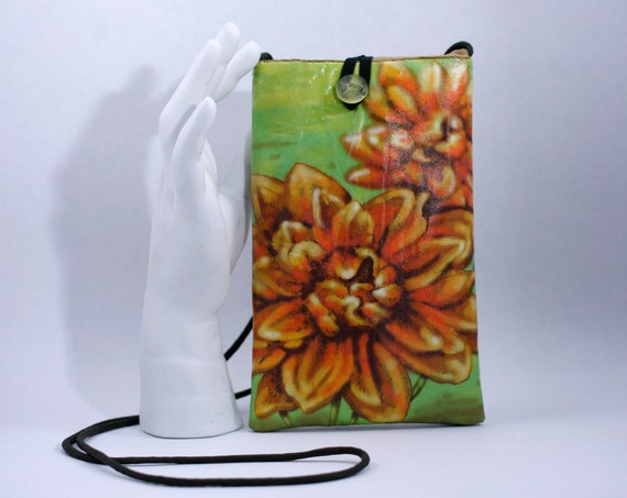Dahlias - Phone Bag