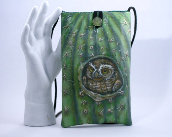 Elf Owl - Phone Bag