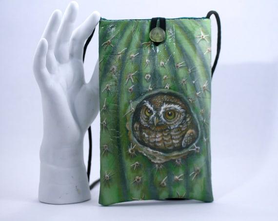 Elf Owl - Phone Bag