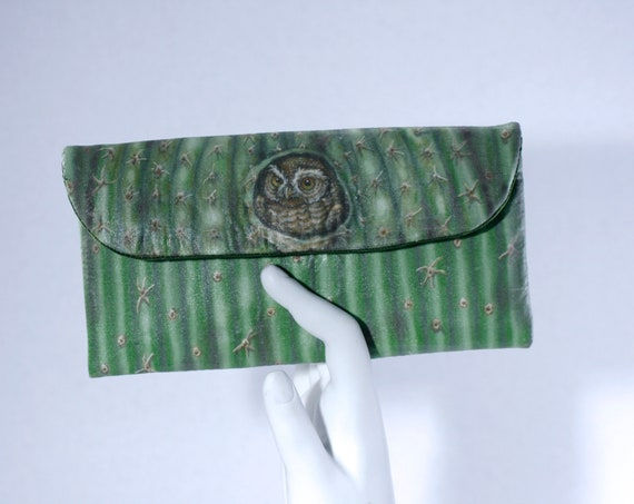 Elf Owl Small Wallet Clutch