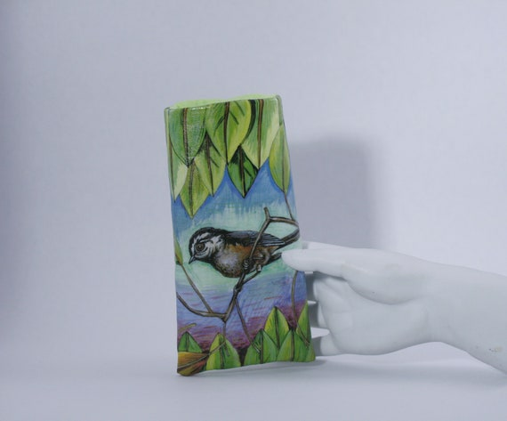 Chickadee  Eyeglass Case