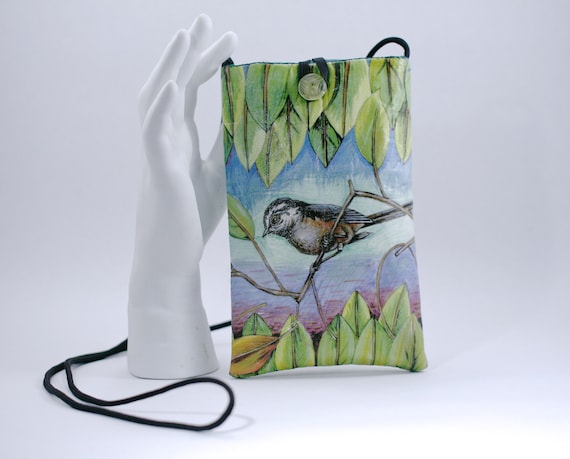 Chickadee - Phone Bag